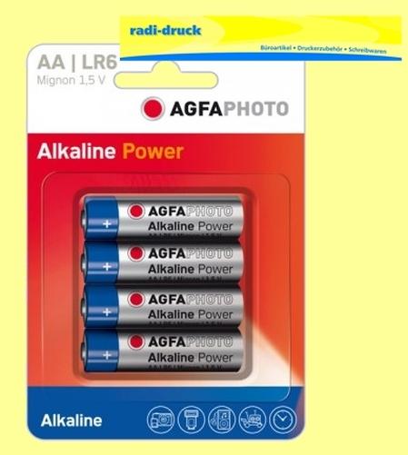 4-Batterien-LR6-AA-AgfaPhoto-Battery-Batterie-Mignon-Alkaline-1-5-V